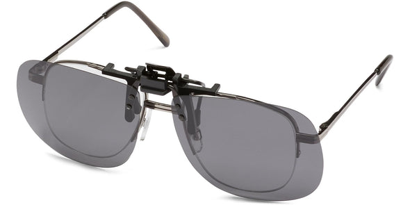 Clip-&-Flip Square - Polarized Sunglasses
