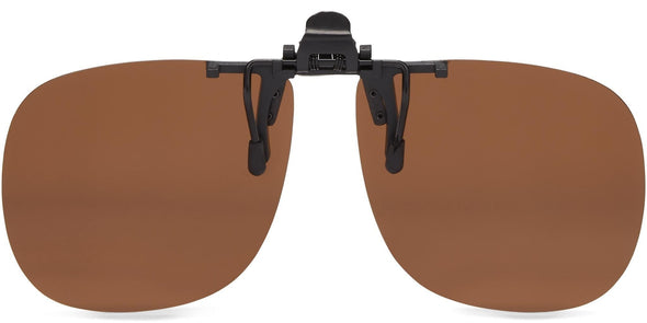 Clip-&-Flip Square - Polarized Sunglasses (3877045076071)