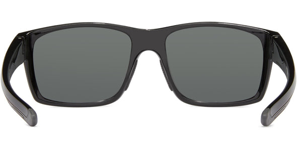 Pargo - Shiny Black w Gray/Gray - Polarized Sunglasses (4572067004519)