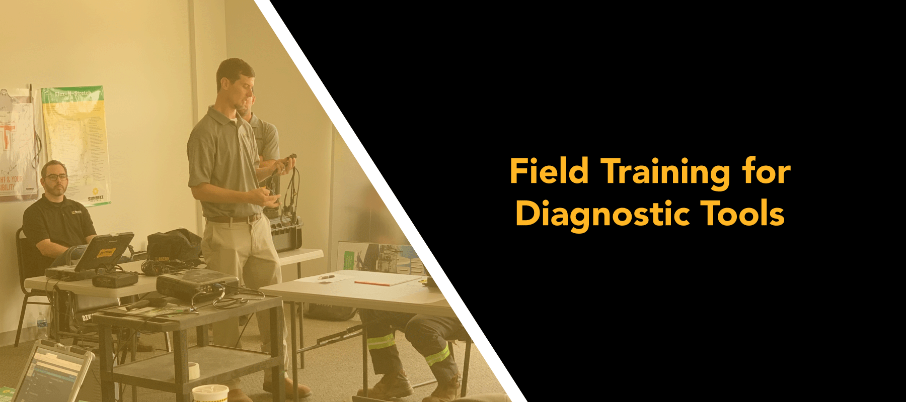 Now Offering: Field Training for Diagnostic Tools