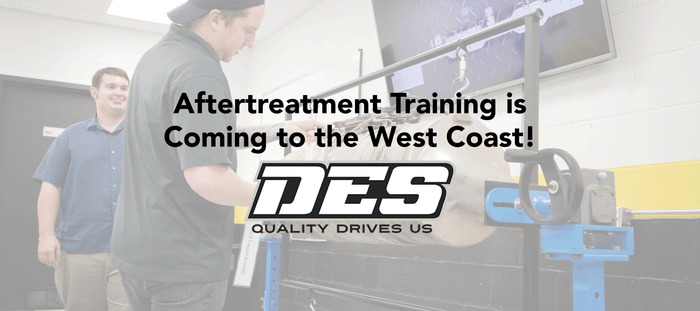 Aftertreatment Training on the West Coast with DES