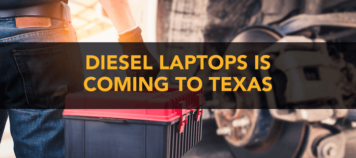 Diesel Laptops is Heading to Dallas!