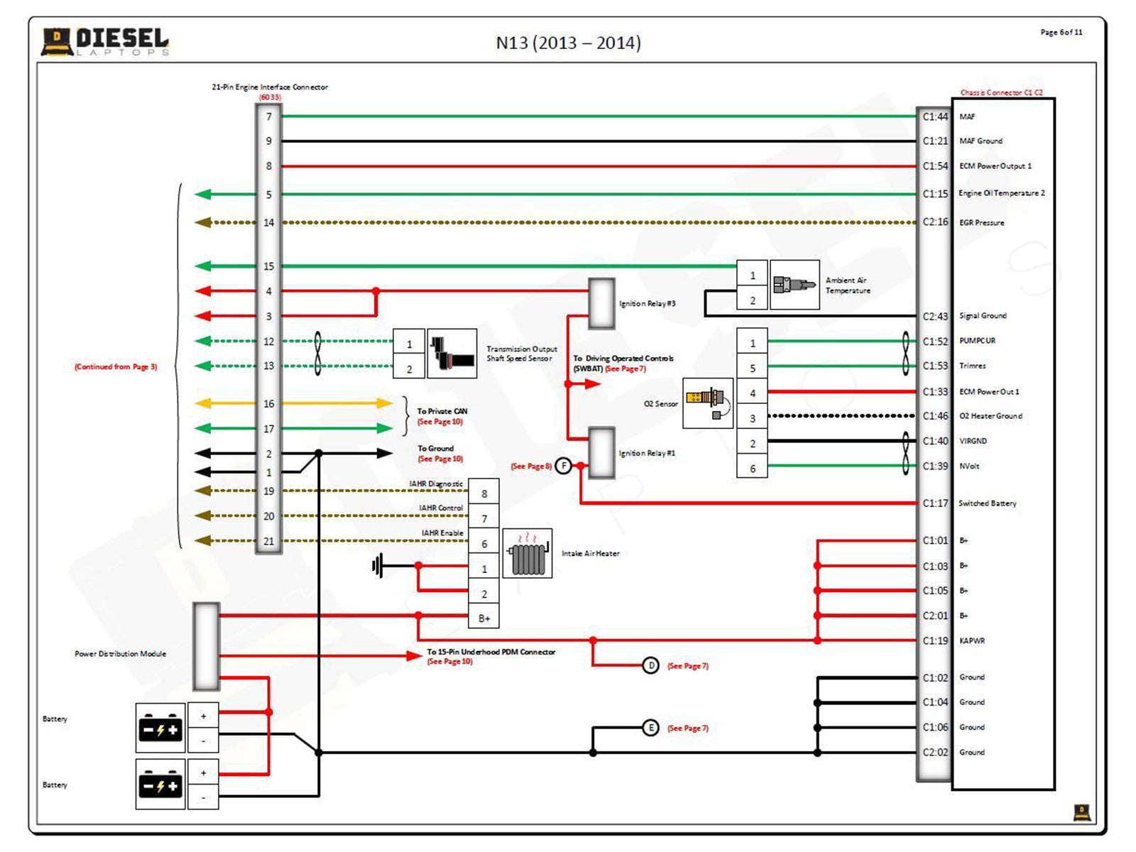 Wiring Diagrams and Wiring Repair