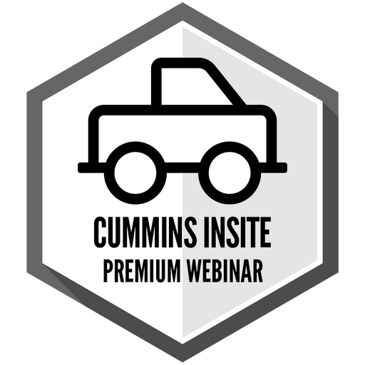 Cummins Insite - Premium Webinar Sponsored by DIESEL FORWARD