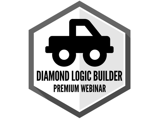 International Diamond Logic Builder - Premium Webinar RECORDING