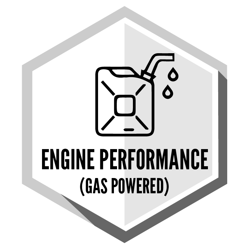 Engine Performance (Gas Powered)