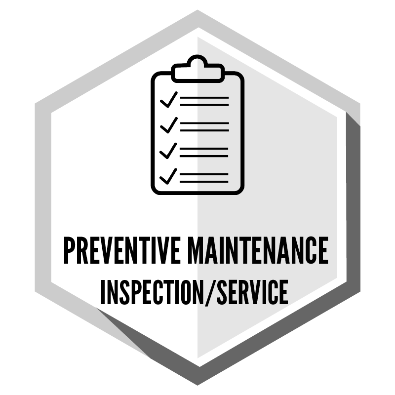 Preventive Maintenance Inspection & Service (PMI)