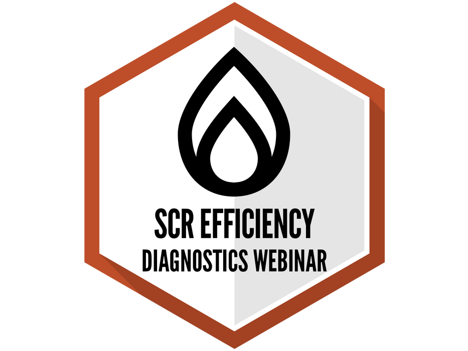 SCR Efficiency and Diagnostics Webinar