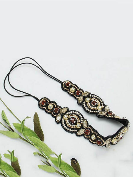 Bohemian Retro Beads Headwear Accessories