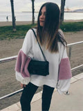 Fashion Loose Long Sleeves Blouses&Shirts Top