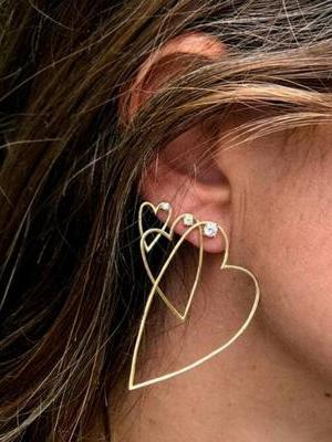 3PCS Alloy Earring Accessories