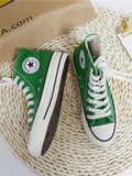 Classic Canvas High Top Sneakers