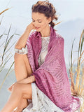 Beach Hollow Knitted Short Cape