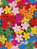 Candy Color Flower Sewing Buttons