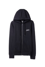 FURY HOODIE WITH ZIPPER BLACK
