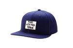 RISE WITH PATCH BLUE CAP