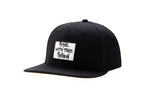 RISE WITH PATCH BLACK CAP