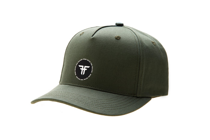 TRADEMARK RING MILITARY GREEN CAP