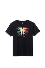ROOTS TEE RASTA/ENZYMATIC WASH