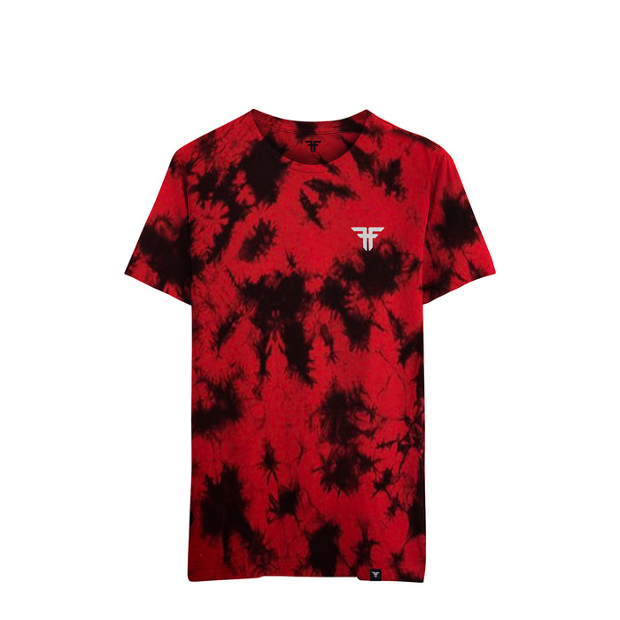 TIE DIE TRADEMARK TEE RED / WASH