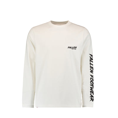 BOLT LONG SLEEVE TEE WHITE