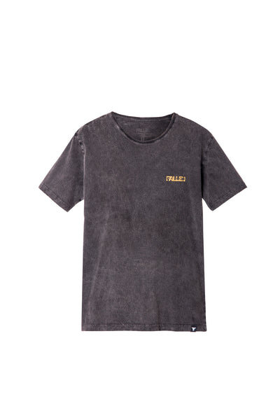 GARAGE TEE BLACK / ENZYMATIC WASHED
