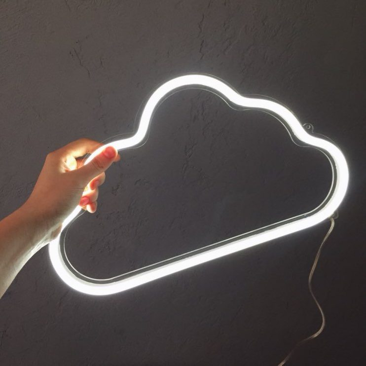 LED Cloud Neon Sign