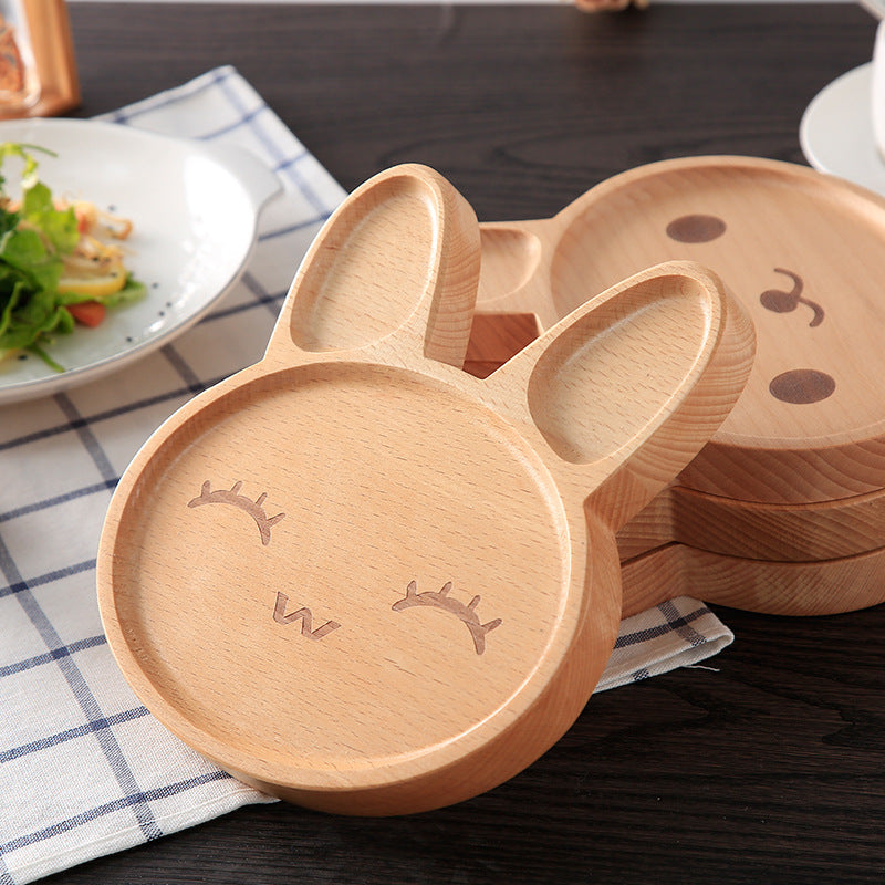 Kawaii Rabbit Wooden Tray