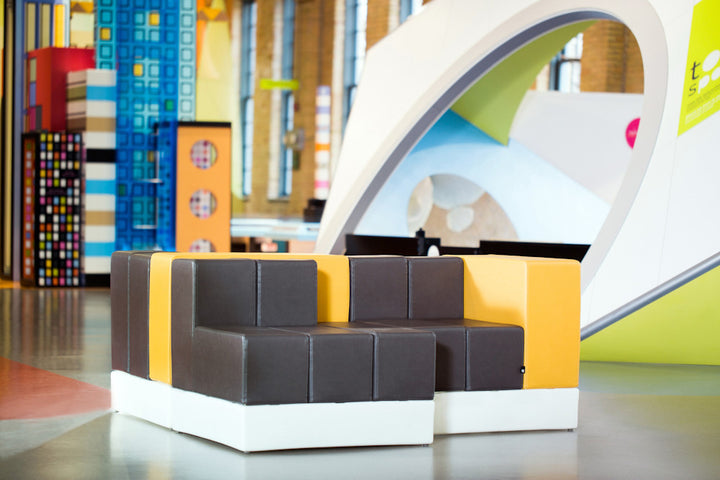 Cellular Modular Furniture by Oi Installed at the Manitoba Childrens Museum