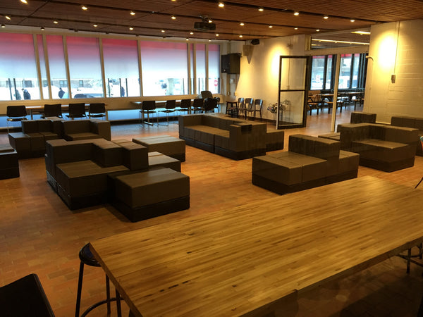 Cellular By Oi Installed In The University Of Winnipeg Student Association Lounge Known As HIVE