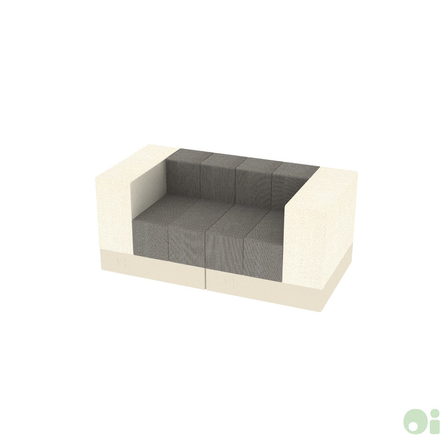 2Scape Sofa in Forge & Canvas