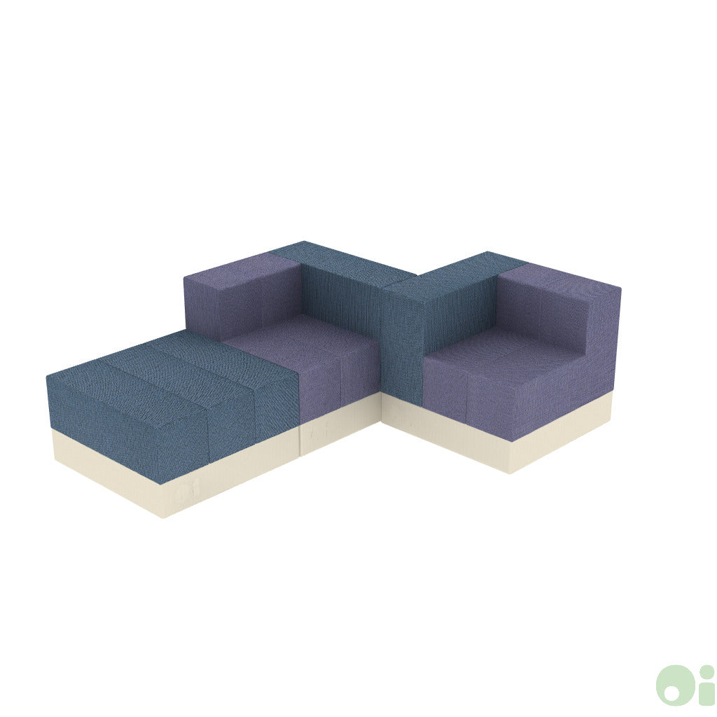 3Scape Lounge Sofa in Tidal & Myth