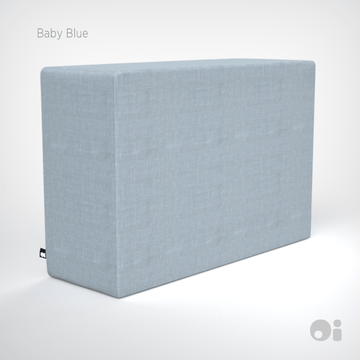 Cellular™ Arm Cushion in Baby Blue Living Covering