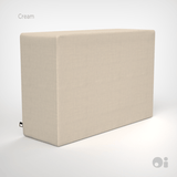 Cellular™ Arm Cushion in Cream Living Covering