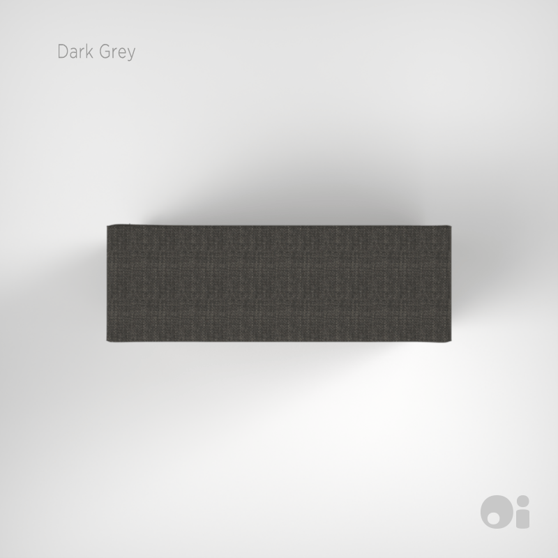 Cellular™ Arm Cushion in Dark Grey Living Covering