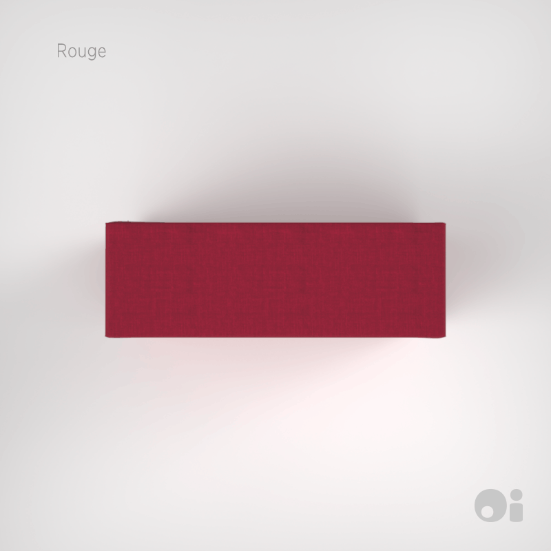 Cellular™ Arm Cushion in Rouge Living Covering