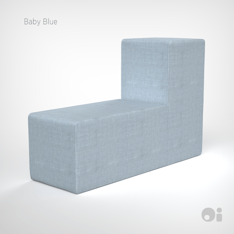 Cellular™ Back Cushion in Baby Blue Living Covering