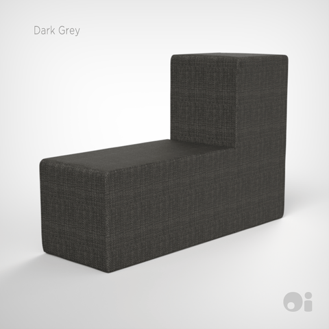 Cellular™ Back Cushion in Dark Grey Living Covering