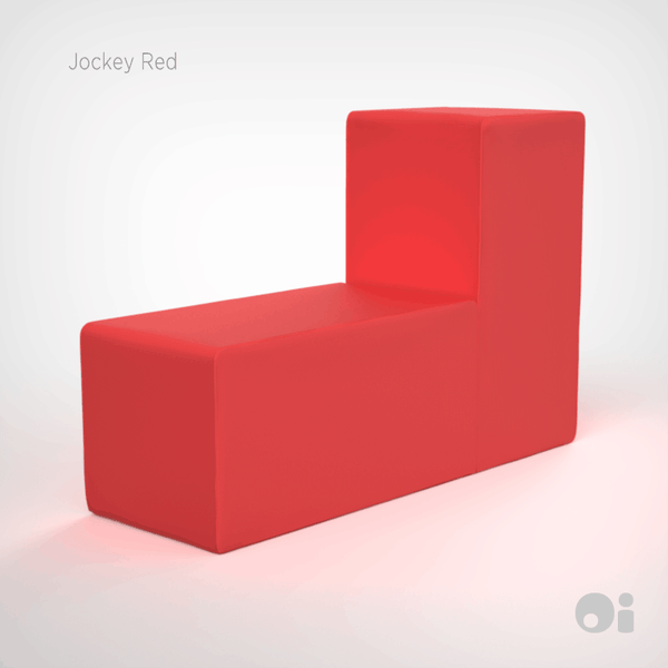 Cellular™ Back Cushion in Jockey Red Outdoor Covering