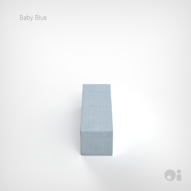 Cellular™ Seat Cushion in Baby Blue Living Covering