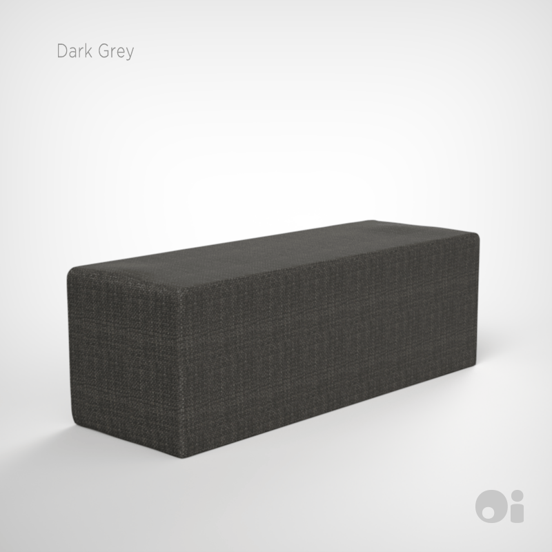 Cellular™ Seat Cushion in Dark Grey Living Covering