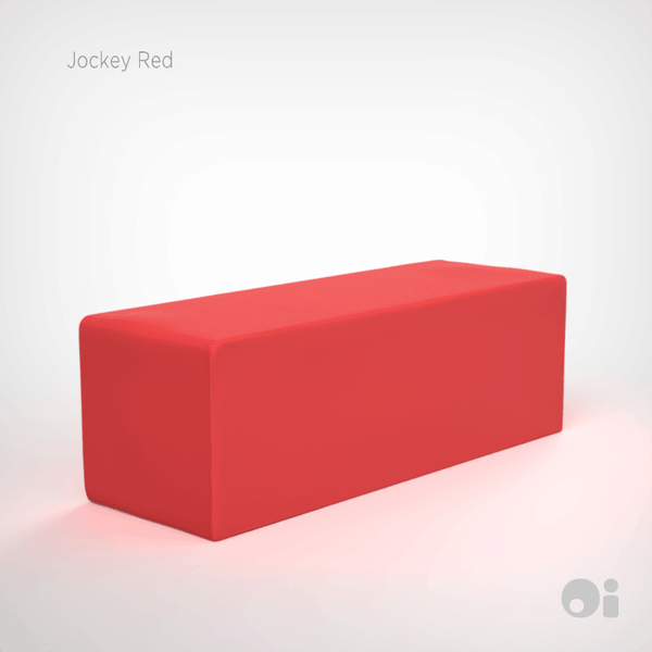Cellular™ Seat Cushion in Jockey Red Outdoor Covering