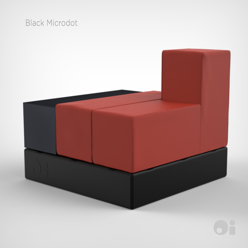 Cellular™ Small Coffee Table in Black Microdot Finish