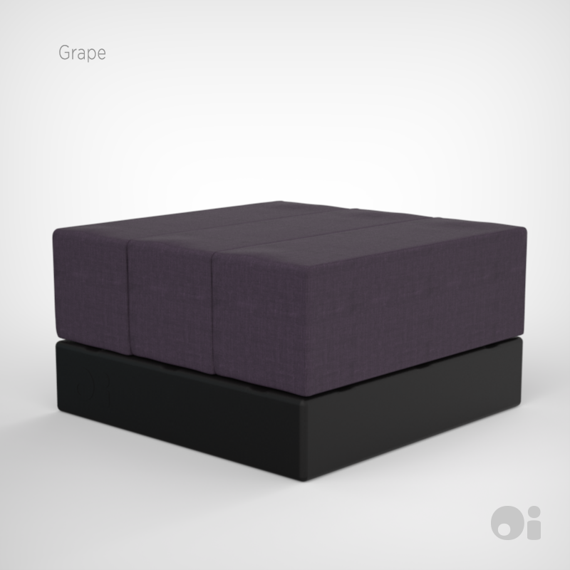 Cellular™ Three Seat Cell Ottoman