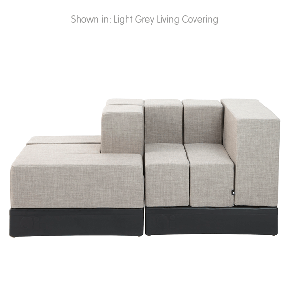 Cellular™ Doublescape in Light Grey Living Cover