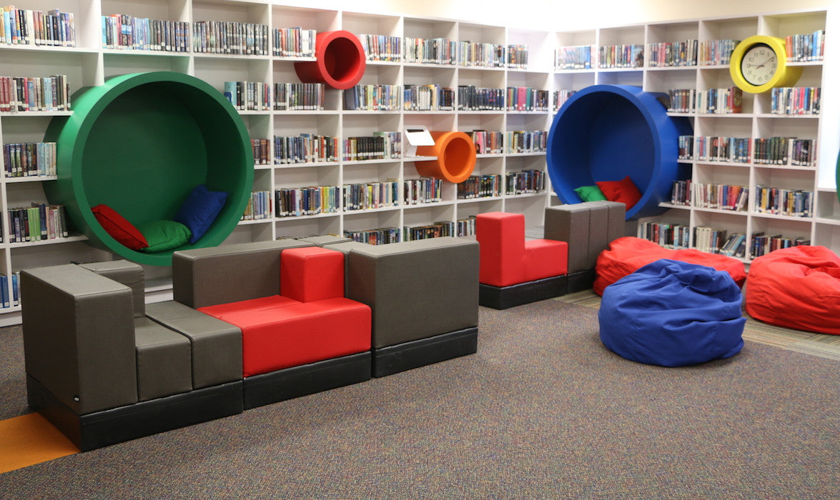 Cellular™ Modular Furniture by Oi Installed in Fort Worth Academy