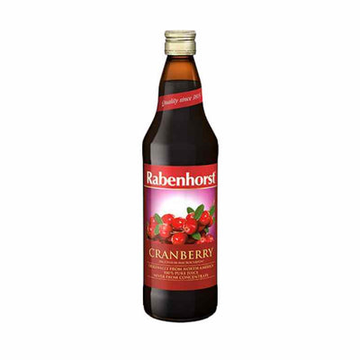 Rabenhorst Cranberries 750ml.