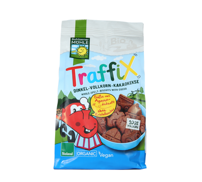 Natural Efe | Traffix - Whole Spelt Biscuits with cocoa