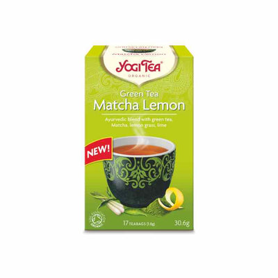 Matcha Lemon Yogi Tea