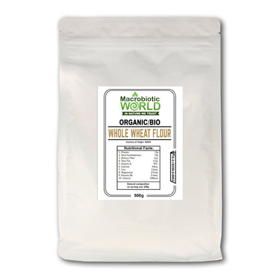 Organic / Bio Whole Wheat Flour